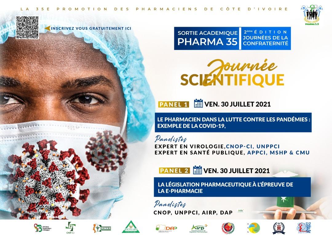 HAPPY END 3.5 : l'UFR des Sciences Pharmaceutiques et Biologique de Côte d'Ivoire accouche d'une nouvelle promotion de pharmaciens