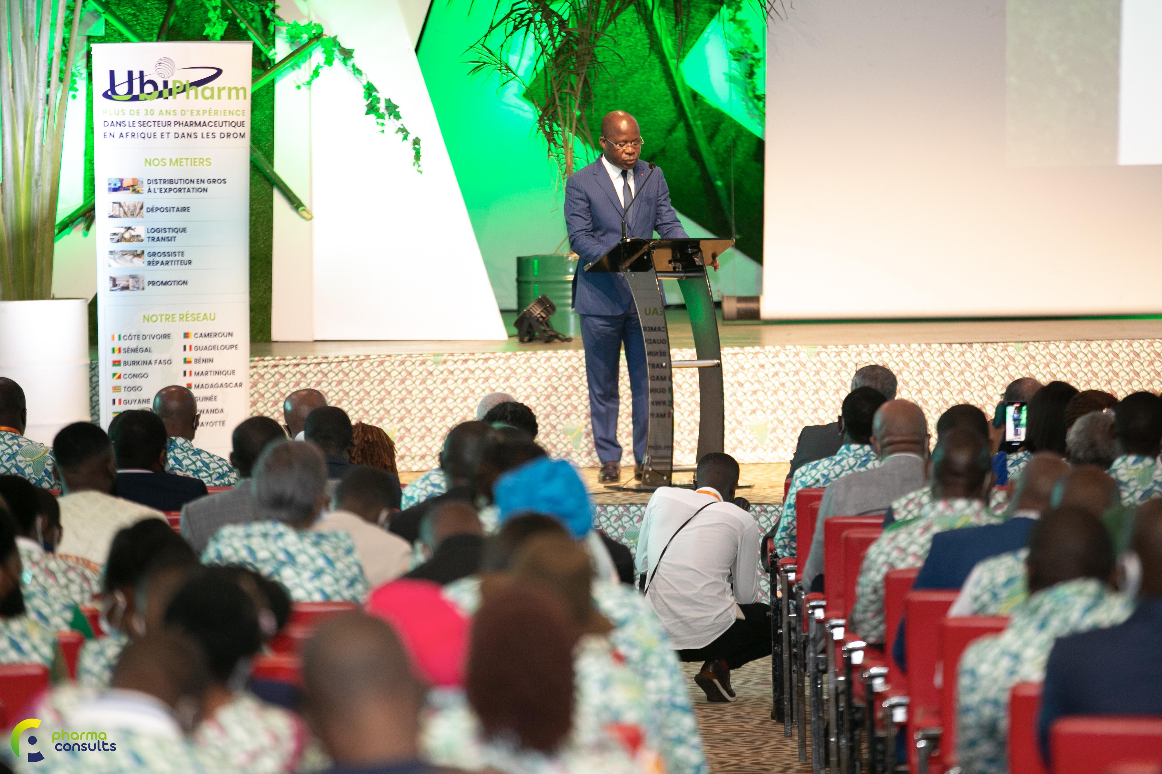 1ère journée de la 21ème édition du forum pharmaceutique international à Abidjan
